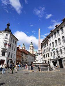Ljubljana centro de la ciudad