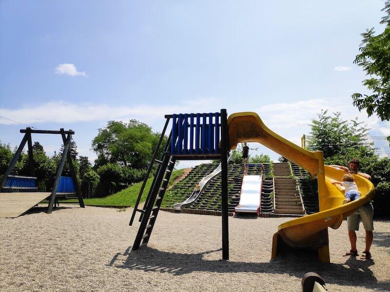 Zona de juegos en Liubliana para todas las edades