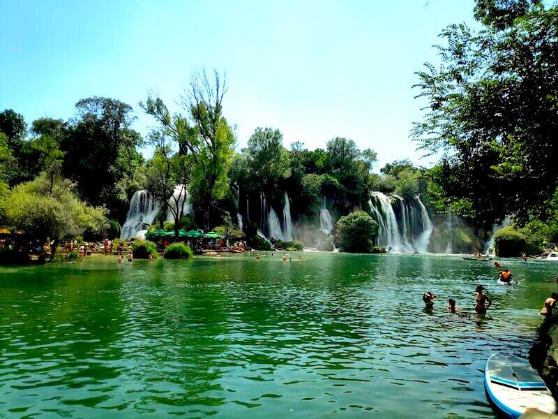 Kravika y sus cascadas