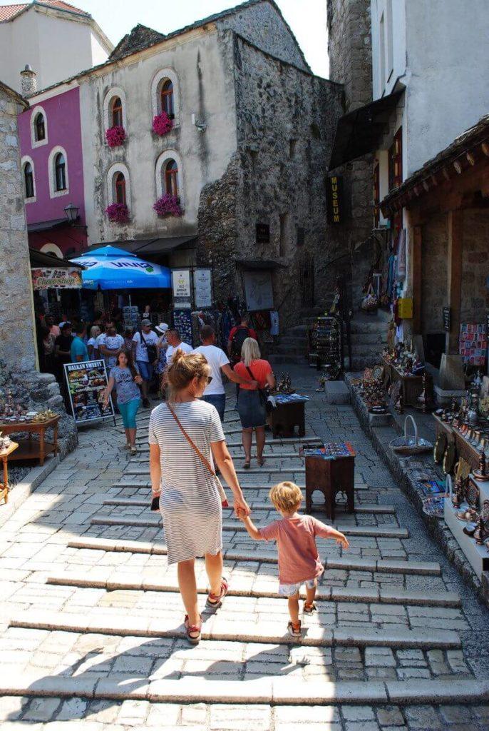 Paseando por las calles de Mostar