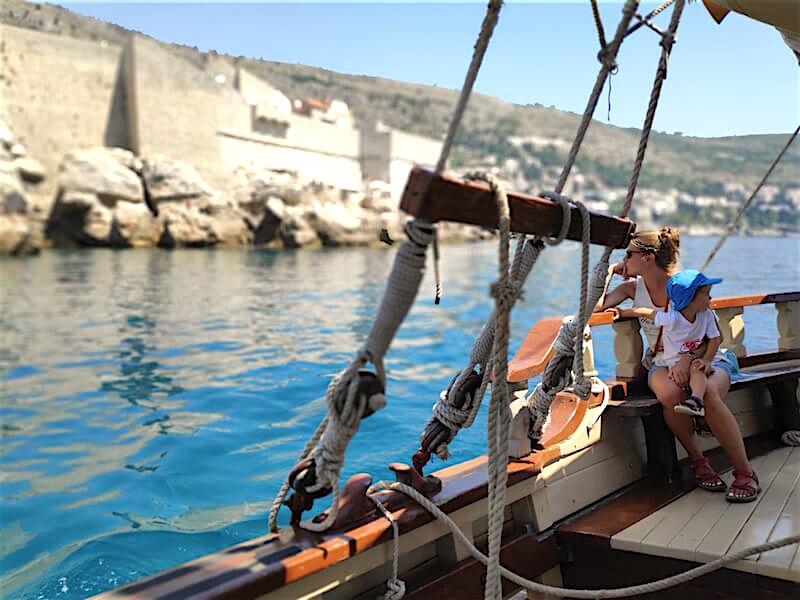 Paseo en barco por Dubrovnik