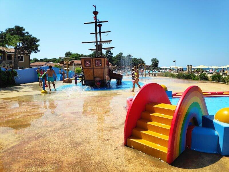 Plaža Stella Maris zona de juegos
