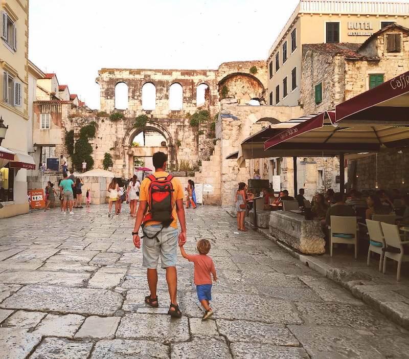 visitando Split