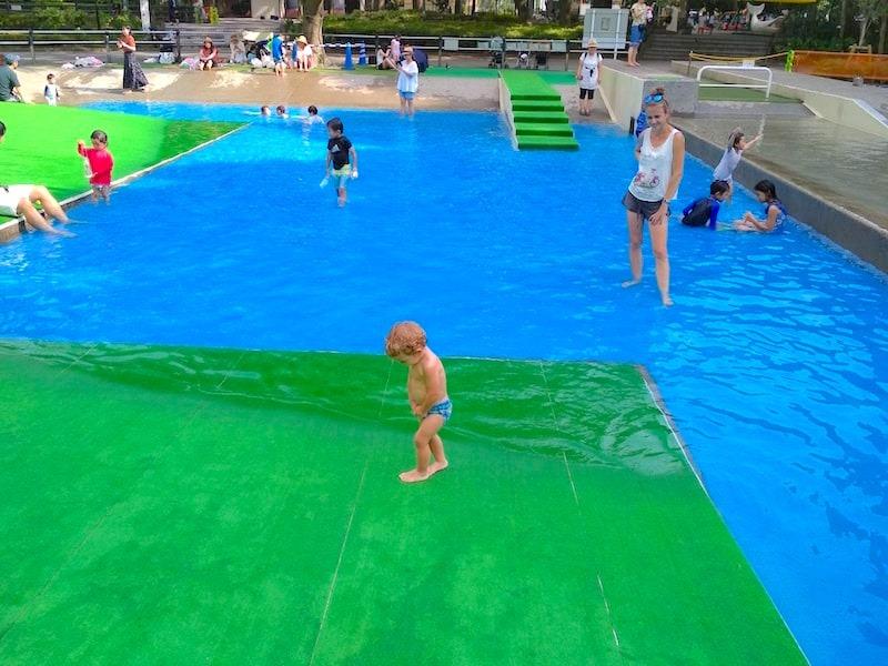 piscinas en Tokio